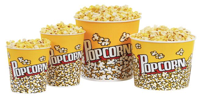 Γιατί τρώμε ποπκόρν στον κινηματογράφο;