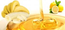 Μάσκα ομορφιάς με μπανάνα και μέλι.